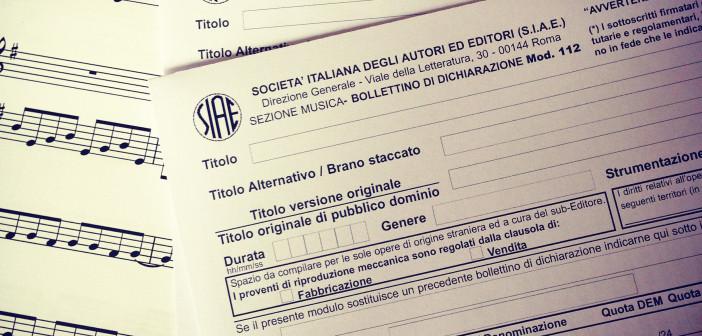 Trascrizioni opere musicali e depositi SIAE