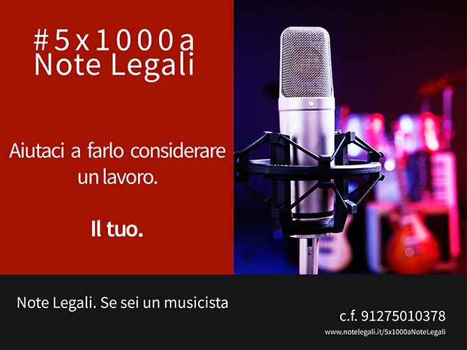 5x1000 Note Legali