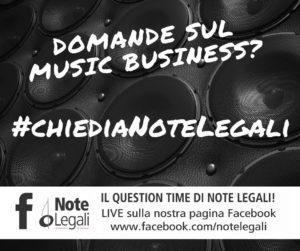 #chiediaNoteLegali @ Live sulla Pagina Facebook di Note Legali