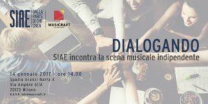 DIALOGANDO: SIAE incontra la scena musicale indipendente @ Spazio Avanzi - Barra A | Milano | Lombardia | Italia