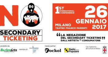 conferenza no secondary ticketing