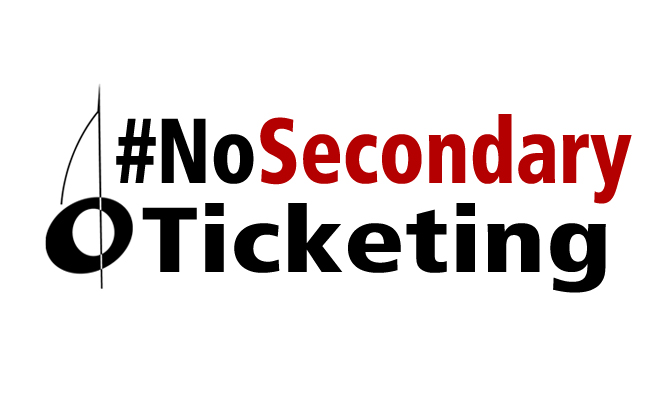 #nosecondaryticketing