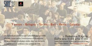 DIALOGANDO con SIAE a Bari @ Centro Polifunzionale Studenti (Ex-Palazzo delle Poste) - Dipartimento universitario | Bari | Puglia | Italia