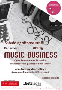 Parliamo di... Music Business @ Alfabeta Musica | Mantova | Lombardia | Italia