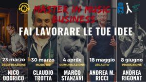 Master in Music Business - Lezione sulla legalità @ Centro Giovani di Monfalcone