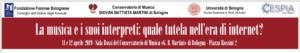 La musica e i suoi interpreti: quale tutela nell'era di internet? @ Conservatorio G.B. Martini di Bologna - Sala Bossi